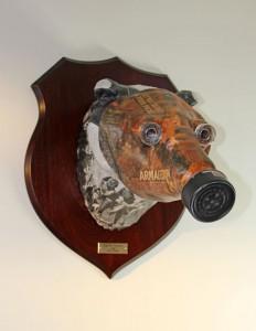 Gas Mask Badger